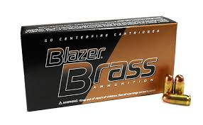 CCI Blazer Brass 9mm Luger 115 gr FMJ 50RDS/Box