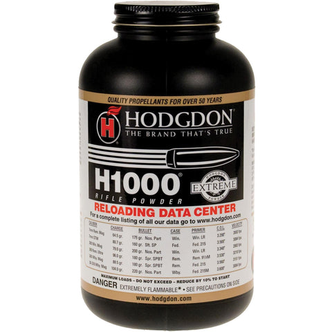 Hodgdon H1000 Smokeless Powder 1lb