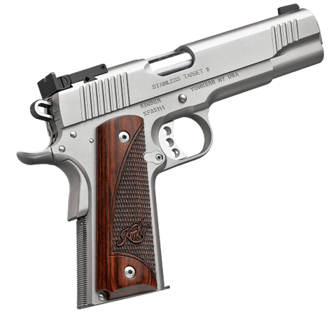 "Kimber 1911 Stainless Target II 9mm Luger 5"" Barrel"