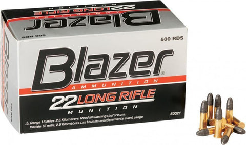 CCI Blazer .22 LR 40gr LRN  - Brick of 500 Rounds