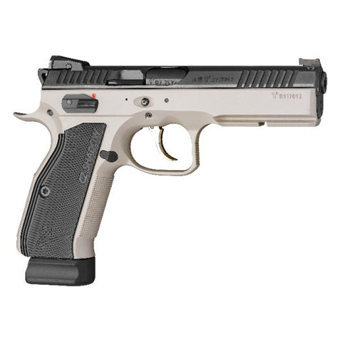 CZ-75 SP-01 Shadow 2 9mm LUGER Semi-Auto Pistol Urban Grey