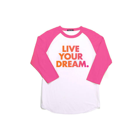 Live Your Dream Color Blend T-Shirt