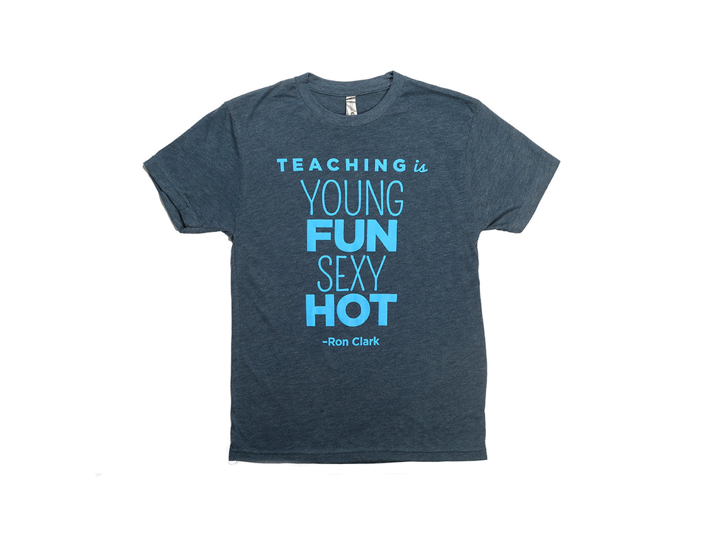 Teaching Is Premium T-Shirt - Grey