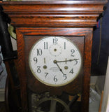 International Time Recording Co. Antique Wall Time Clock