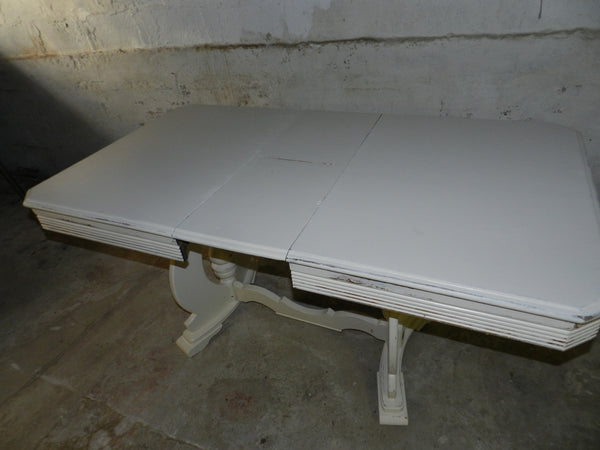 Shabby Chic Oak Dining Table Distressed