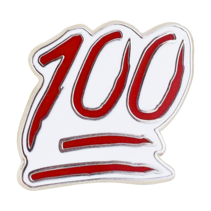 100 Emoji Pin - Emoji Pins | Emoji Keychains | Emoji Earrings | Emoji Gifts