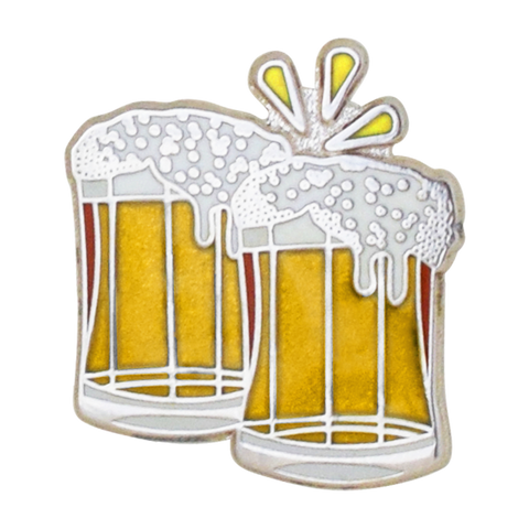Beers Emoji Pin - Emoji Pins | Emoji Keychains | Emoji Earrings | Emoji Gifts