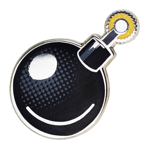 Bomb Emoji Pin - Emoji Pins | Emoji Keychains | Emoji Earrings | Emoji Gifts