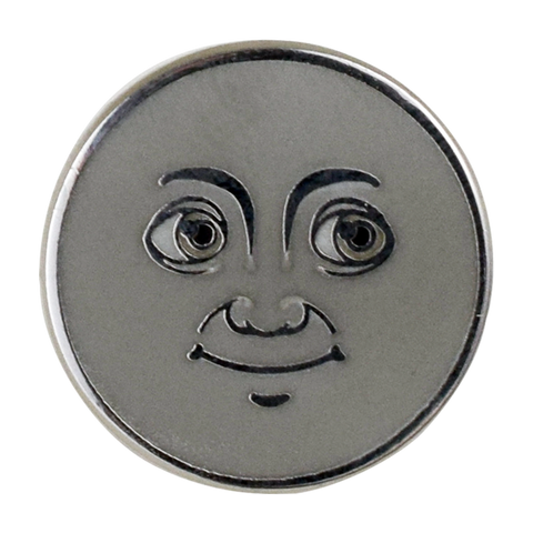 Moon Emoji Pin - Emoji Pins | Emoji Keychains | Emoji Earrings | Emoji Gifts