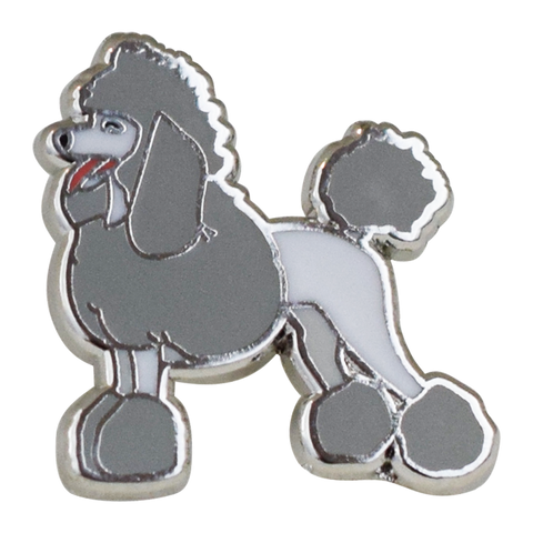 Poodle Emoji Pin - Emoji Pins | Emoji Keychains | Emoji Earrings | Emoji Gifts