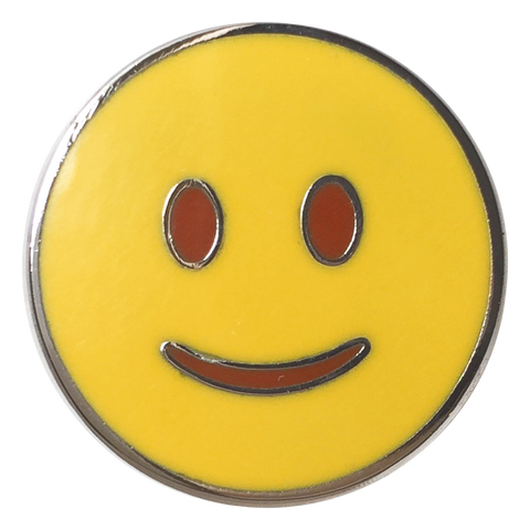 Smile Emoji Pin - Emoji Pins | Emoji Keychains | Emoji Earrings | Emoji Gifts