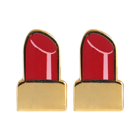 Lipstick Emoji Earrings - Emoji Pins | Emoji Keychains | Emoji Earrings | Emoji Gifts