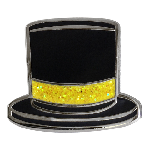 Top Hat Emoji Pin - Emoji Pins | Emoji Keychains | Emoji Earrings | Emoji Gifts
