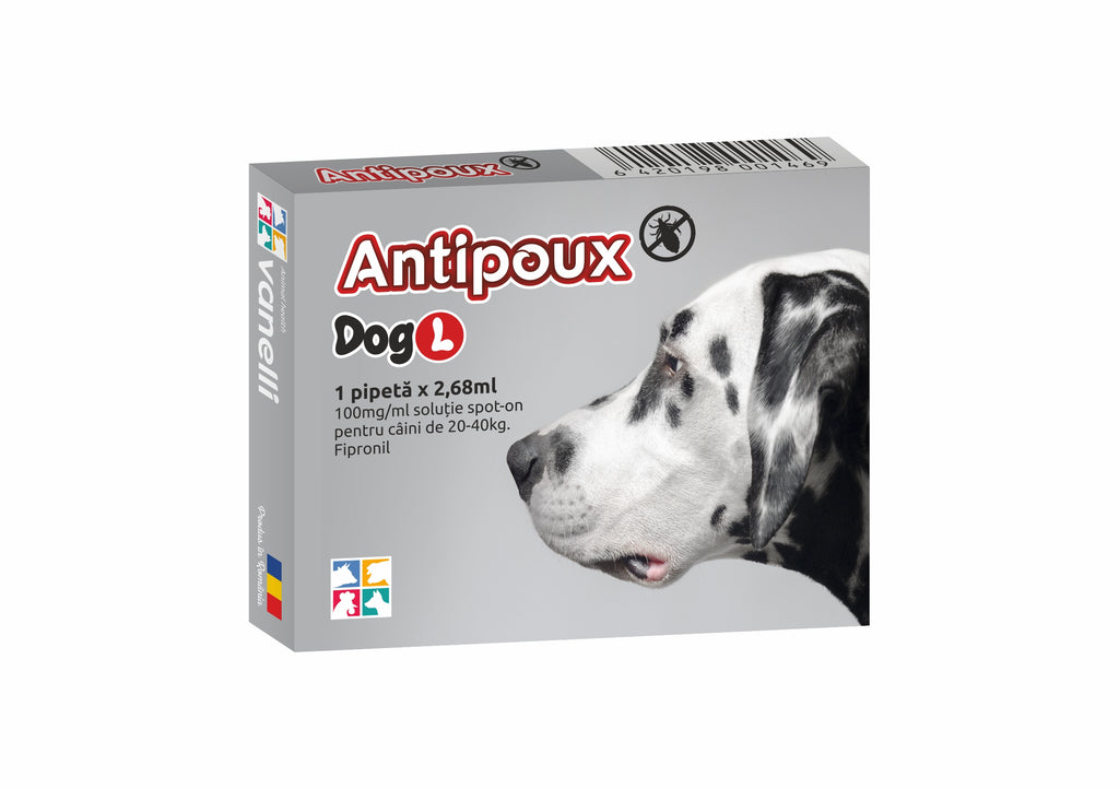 ANTIPOUX DOG spot on *
