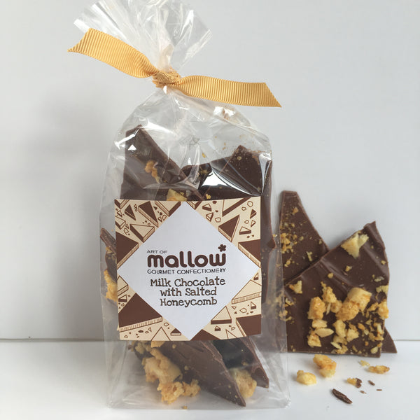 Milk Chocolate with Sweet & Salty Honeycomb - NEW!