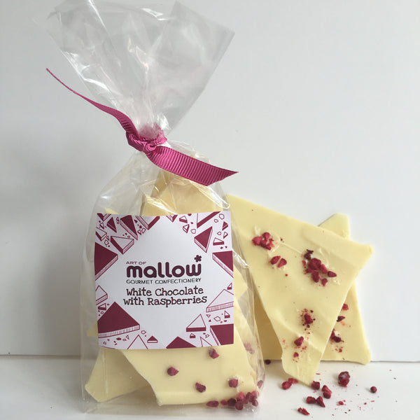 White Chocolate with Raspberries - NEW!