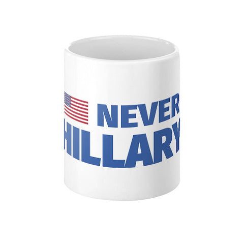 #NEVERHILLARY Coffee Mug - The Trump Outlet - 1