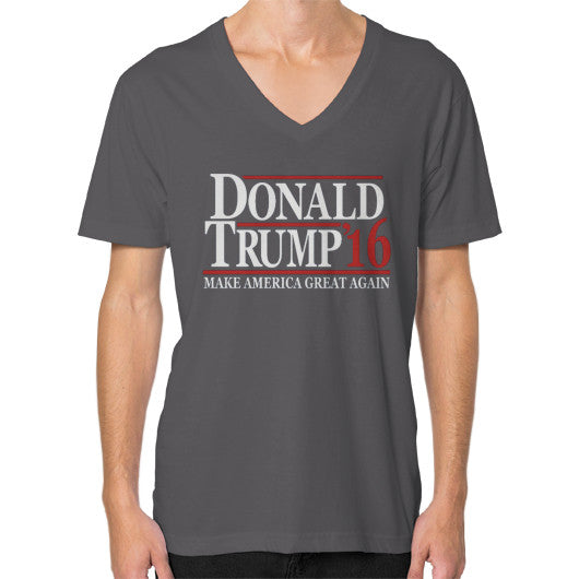 Donald Trump '16 Make America Great Again - Men's V-Neck - The Trump Outlet - 2