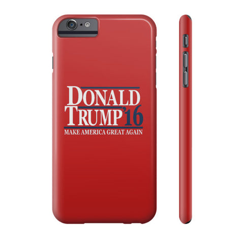 Donald Trump '16 Make America Great Again - Phone Case (Red) - The Trump Outlet - 1