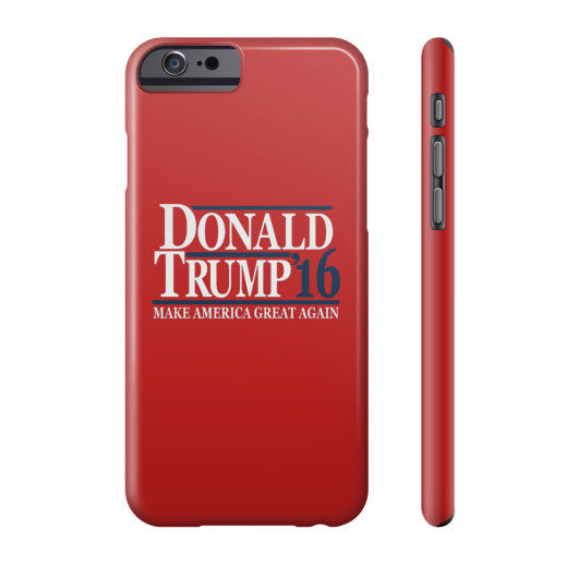 Donald Trump '16 Make America Great Again - Phone Case (Red) - The Trump Outlet - 2