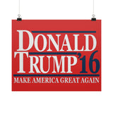 Donald Trump '16 - Make America Great Again - Rally Signs / Banners / Posters - The Trump Outlet - 4
