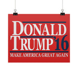Donald Trump '16 - Make America Great Again - Rally Signs / Banners / Posters - The Trump Outlet - 2