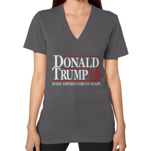 Donald Trump '16 Make America Great Again - Women's V-Neck - The Trump Outlet - 2