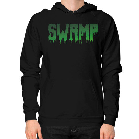Hoodie (on man) Black The Trump Outlet