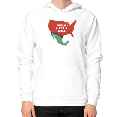Build The Wall - Men's Hoodie / Sweatshirt - The Trump Outlet - 1