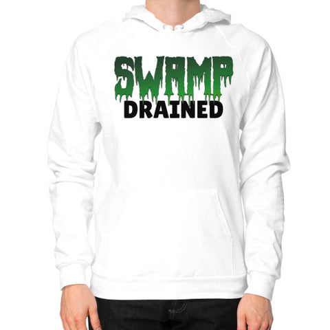 Hoodie (on man) White The Trump Outlet