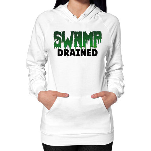 Hoodie (on woman) White The Trump Outlet