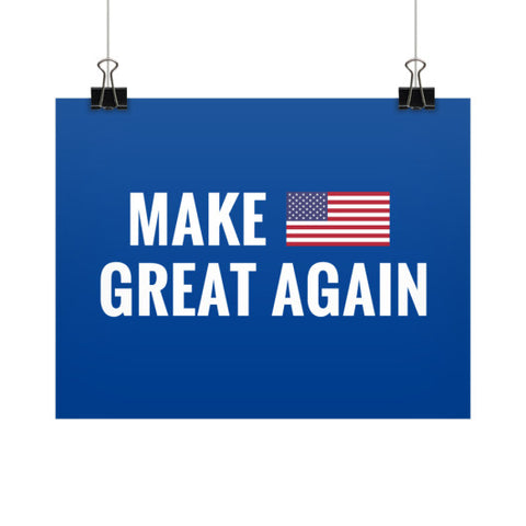 Make America Great Again - Rally Signs / Banners / Posters - The Trump Outlet - 1