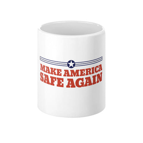 Make America Safe Again - Donald Trump for President 2016 - Coffee Mug - The Trump Outlet - 1