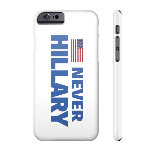 #NEVERHILLARY Phone Case - The Trump Outlet - 2