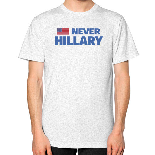 #NEVERHILLARY Men's T-Shirt - The Trump Outlet - 2