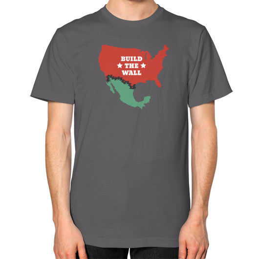"Donald Trump for President - ""Build The Wall"" Men's T-Shirt - The Trump Outlet - 2"