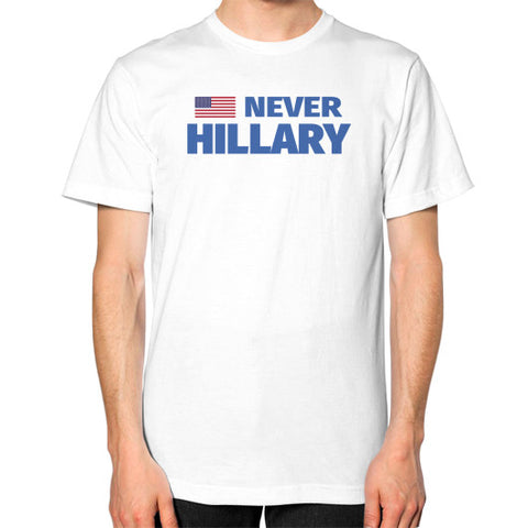 #NEVERHILLARY Men's T-Shirt - The Trump Outlet - 1