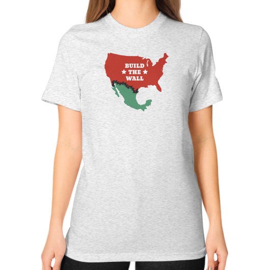 "Donald Trump for President - ""Build The Wall"" Women's T-Shirt - The Trump Outlet - 2"