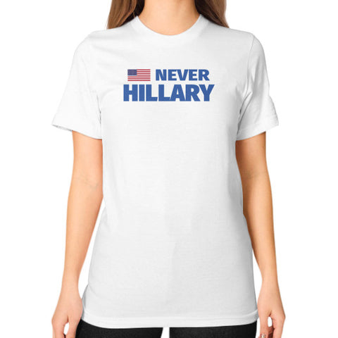 #NEVERHILLARY Women's T-Shirt - The Trump Outlet - 1