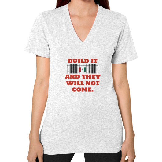 BUILD IT Women's V-Neck - The Trump Outlet - 2