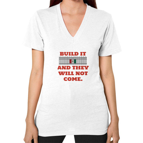BUILD IT Women's V-Neck - The Trump Outlet - 1