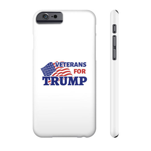 Veterans for Trump 2016 Phone Case - The Trump Outlet - 2