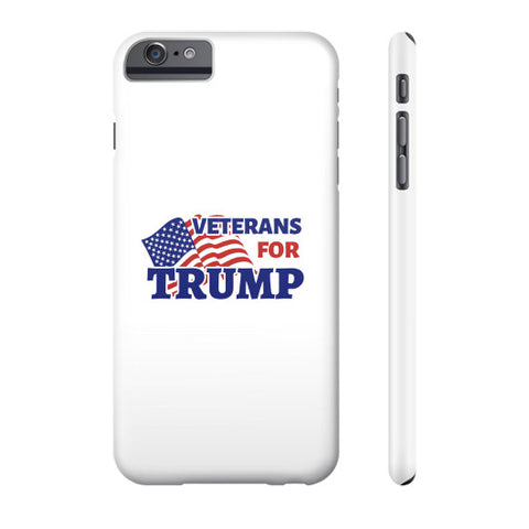 Veterans for Trump 2016 Phone Case - The Trump Outlet - 1