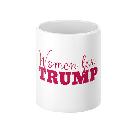 Women for Donald Trump 2016 Coffee Mug - The Trump Outlet - 1
