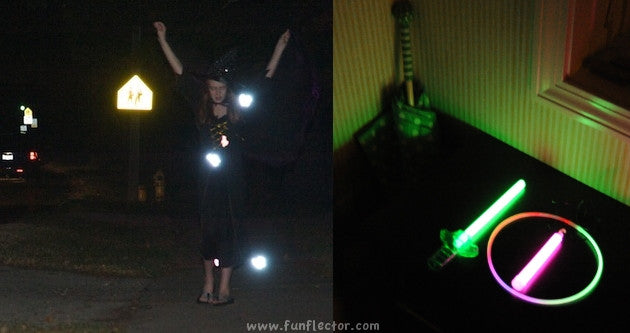 The difference between EN13356 safety reflectors and glow in the dark products