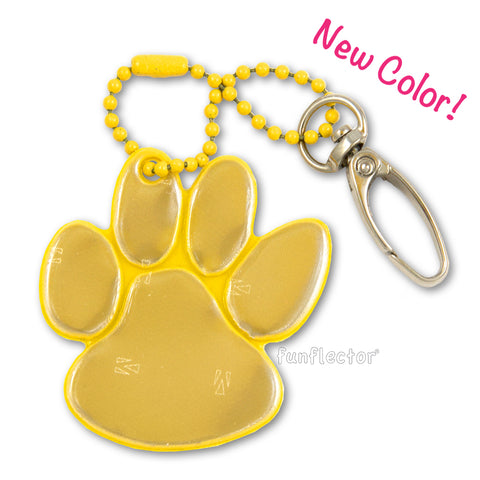 Paw Print With Swivel Clasp (10 colors)