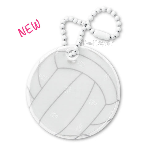 New design! Volleyball safety reflector bu funflector