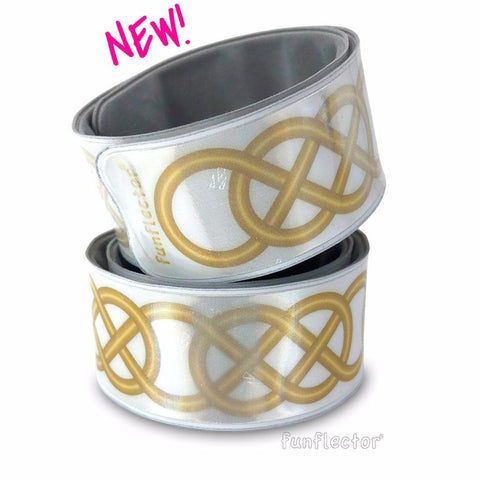 Celtic Gold Slap Bracelet