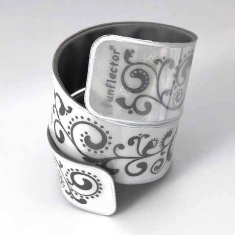 Baroque White Slap Bracelet