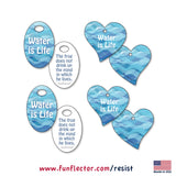 Water is Life safety reflectors for water protection